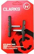 Clarks MTB/Hybrid V-Brake Pads Cantilever Post Type