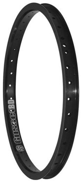 Gusset Black Dog BMX Rim