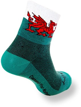 SockGuy Welsh Dragon Socks | Strømper