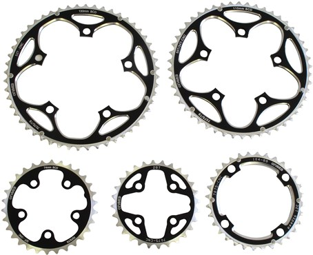 One23 6061 T6 Alloy Chainring - 110mm PCD Outer
