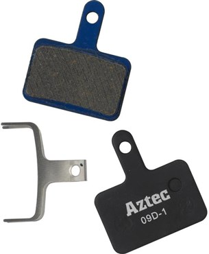 Aztec Organic Disc Brake Pads For Shimano Deore M515 Mechanical / M525 Hydraulic