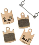 Aztec Sintered Disc Brake Pads For Hope M4 / E4 / DH4
