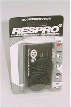 Respro Powa / Sportsta Anti-Pollution Mask Valves - Pack of 2