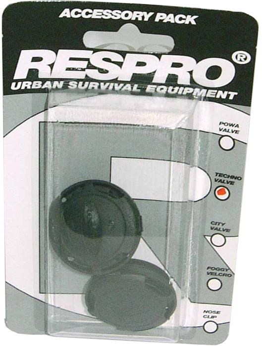 Respro Techno / City Anti-Pollution Mask Valves - Pack of 2 | Briller