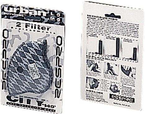 Respro City Anti-Pollution Mask Filter - Pack of 2 | Beskyttelse