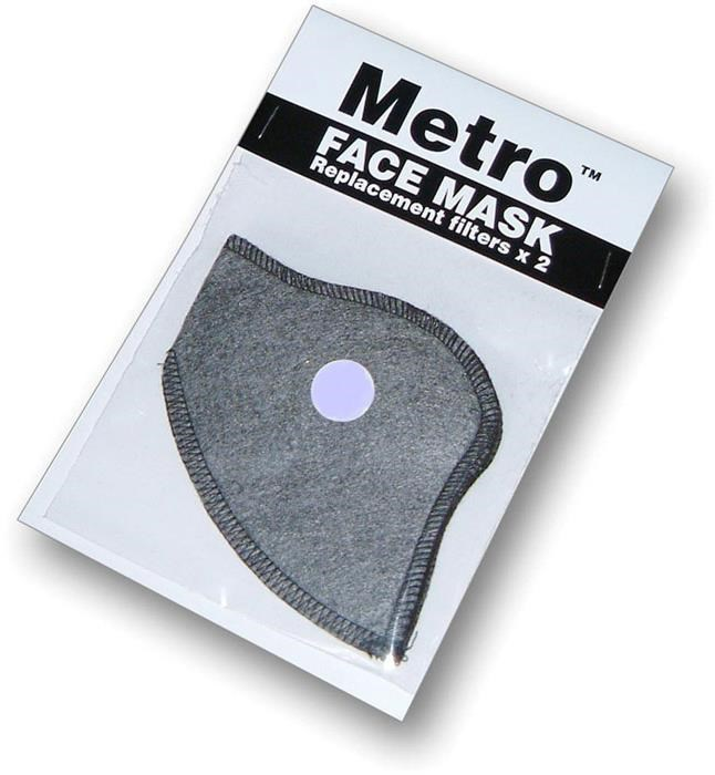 Respro Metro Anti-Pollution Mask Filter - Pack of 2 | Briller