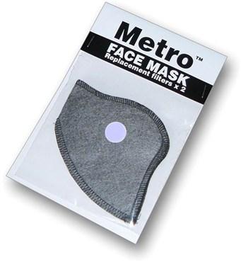Respro Metro Anti-Pollution Mask Filter - Pack of 2 | Beskyttelse