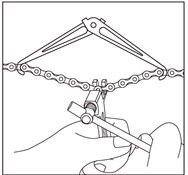 Ice Toolz Foldable Chain Hook