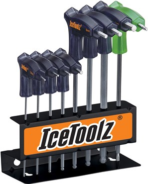 Ice Toolz Pro Shop Hex and Torx Key Set