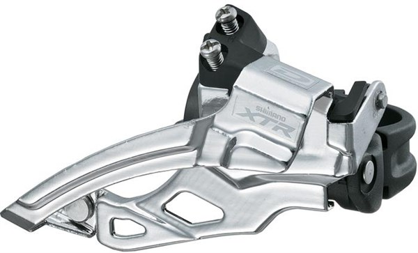 Shimano XTR M985 10 Speed Double Front Derailleur, Top Swing, Dual Pull
