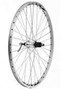 "Product image for Tru-Build 26"" MTB Rear Wheel 7spd Cassette QR Mach1 MX26 Double Wall Rim With CNC Braking Surface"