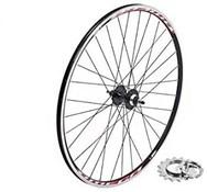 Tru-Build 700c Front Track Wheel Mach1 Omega Rim 32H