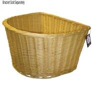 Adie D-Shape Wicker Basket 16 Inch