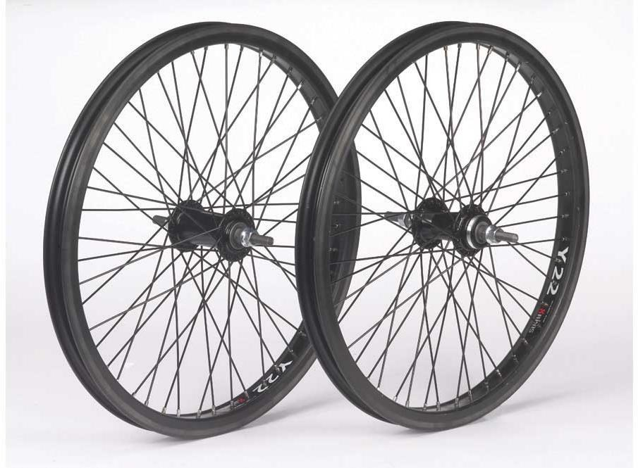 DiamondBack 48 Spokes and 3/8 Axle Rear BMX Wheel | Hjulsæt