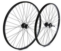 "Tru-Build 26"" MTB Rear Disc Wheel Alloy Single Wall Rim 6Bolt Nutted Axle Screw-On"
