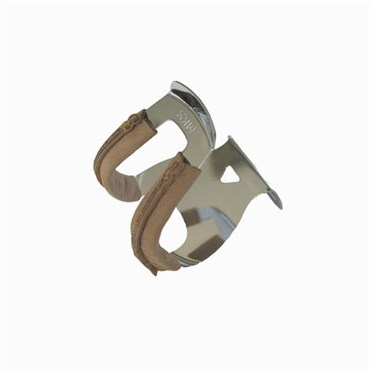 MKS Half Clip Steel - Deep - With Leather