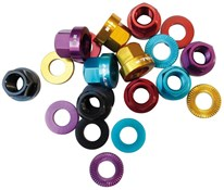 Halo Alloy Axle Nuts With Washers