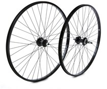 "Tru-Build 26"" MTB Rear Wheel Alloy Rim QR Axle Screw-On"