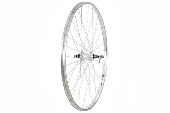 """Tru-Build 26"""" MTB Rear Wheel Alloy Rim QR Screw-On"""