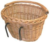 Basil Wicker Oval Hook-On Front Basket
