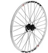 """Tru-Build 26"""" MTB Front Disc Wheel 6 Bolt Shimano Deore Disc Hub QR Mach1 MX Disc Rim"""