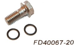 Product image for Formula Hose Screw Kit for K24 and Bianco