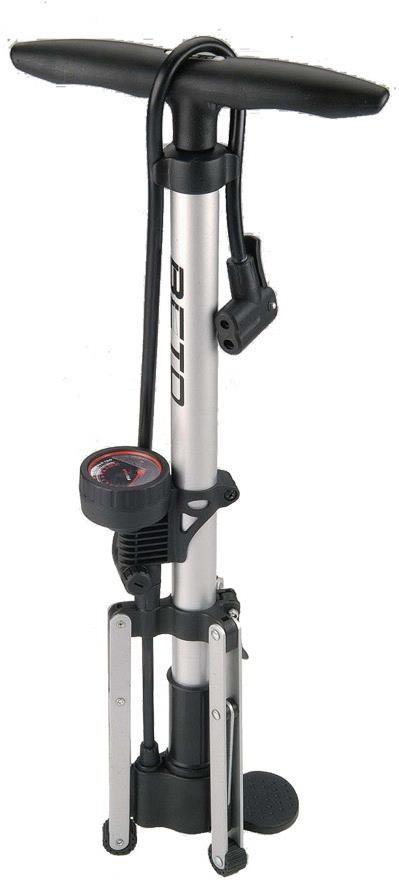Beto Alloy Tripod Track Pump With Gauge | Fodpumper