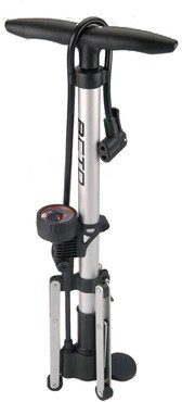Beto Alloy Tripod Track Pump With Gauge