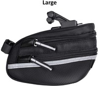 Topeak Wedge Pack II Saddle Bag With QuickClick (F25) w/Seatpost Strap