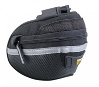 Product image for Topeak Wedge Pack II Saddle Bag With QuickClick (F25) w/Seatpost Strap