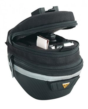Topeak Survival Tool Wedge II Saddle Bag Includes 17 Piece Tool Kit