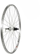 Tru-Build 700c Rear Wheel Alloy 36H Rim Shimano 7 Speed Cassette QR