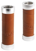 Brooks Slender Leather Handlebar Grips