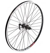 "Tru-Build 26"" MTB Rear Disc Wheel Mach1 MX Shimano Deore 6 Bolt Disc Hub and V Compatible"