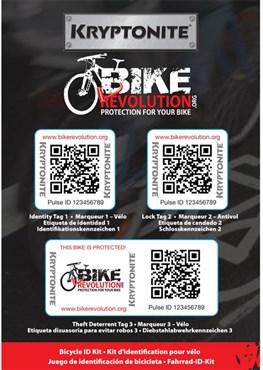 Kryptonite Bike Shepherd Bike ID Kit