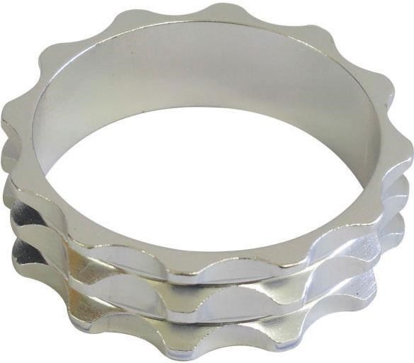 One23 Knobbly Aluminium Headset Spacers   Styrfittings