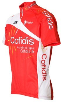 Nalini Cofidis Team Cycling Short Sleeve Jersey - Out of Stock ... 95d75caa3