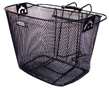 Adie Front Mesh Metal Basket With Bracket