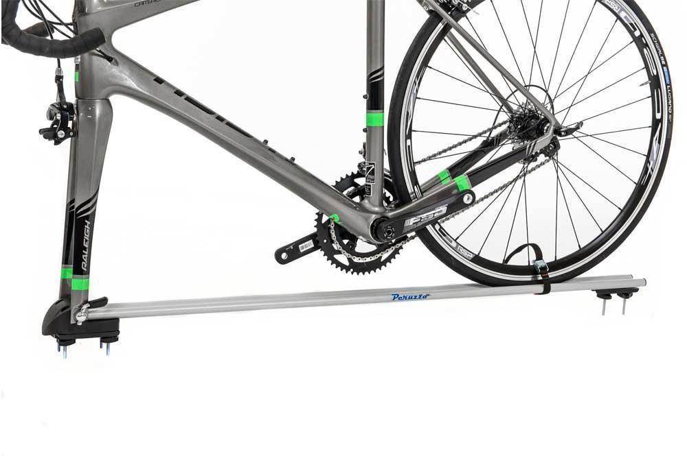 Peruzzo Pordoi Fork Mounting 1 Bike Roof Car Rack - Disc Brake Compatible | Cykelholder til bil