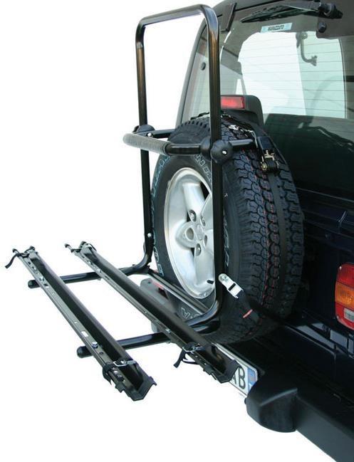 Peruzzo Brennero 4x4 Spare Tyre Fitting 2 Bike Car Carrier / Rack | Hjulsæt