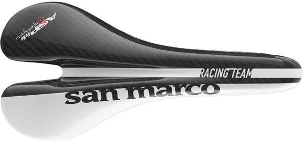 Selle San Marco Aspide Superleggera Carbon Saddle With Carbon-Waist Rail