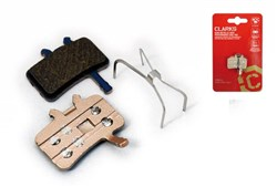 Product image for Clarks Elite Semi-Metallic Disc Brake Pads - Avid BB7/Juicy, Spring Inc