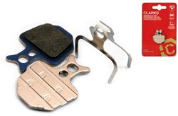 Clarks Elite Semi-Metallic Disc Brake Pads for Formula Oro R1, MEGA, The ONE Disc Brakes