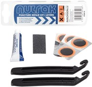 Nutrak Puncture Repair Kit & Tyre Levers (Pack of 25 - Sell as Single)