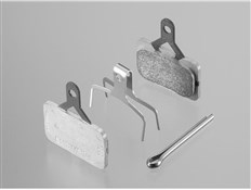 Product image for Shimano BR-M575 E01S Metal Disc Brake Pads and Spring