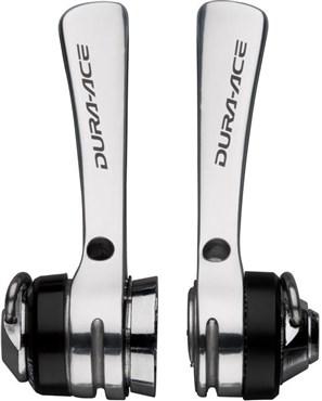 Shimano Dura-Ace SL-7700 9-speed Braze-on Downtube Shifters