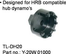 Shimano TL-DH20 Dynamo Hub Cap Tool