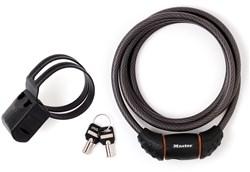 Master Lock Street Quantum Self Coiling Cable Key Lock