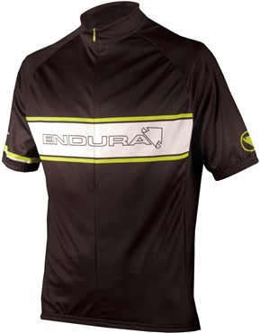 Endura CoolMax Printed Endura Retro Short Sleeve Cycling Jersey SS17