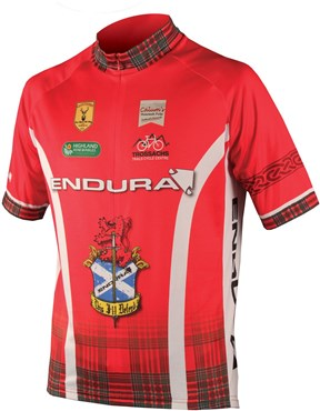 Endura CoolMax Printed Clan Short Sleeve Cycling Jersey SS16